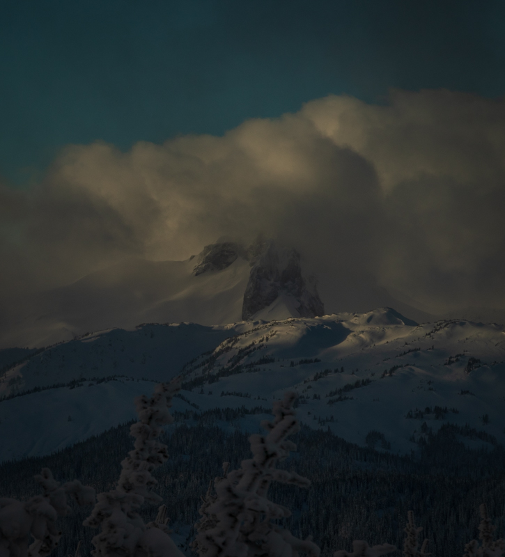 Black Tusk in clouds 1 of 1